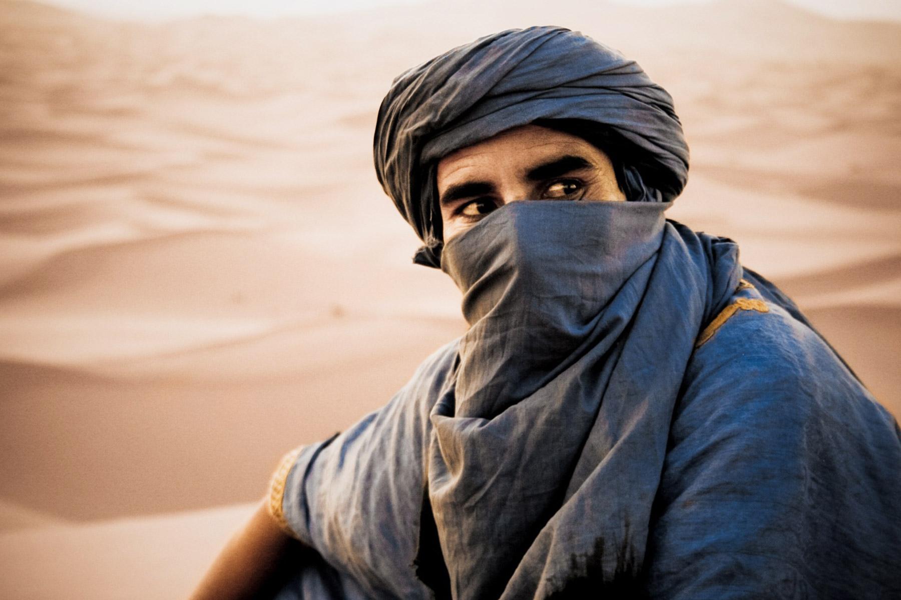 Moroccan berber camel guide