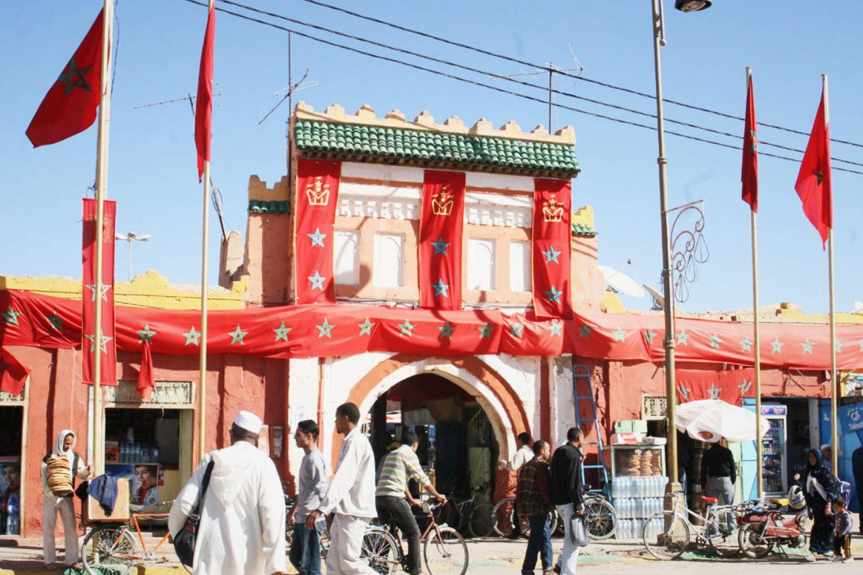 Erfoud Market Morocco