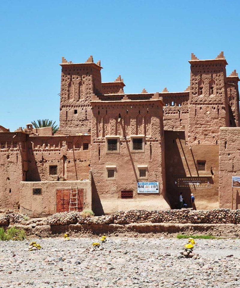 Morocco Souss Massa Draa Region Ouarzazate Province Skoura Kasbah