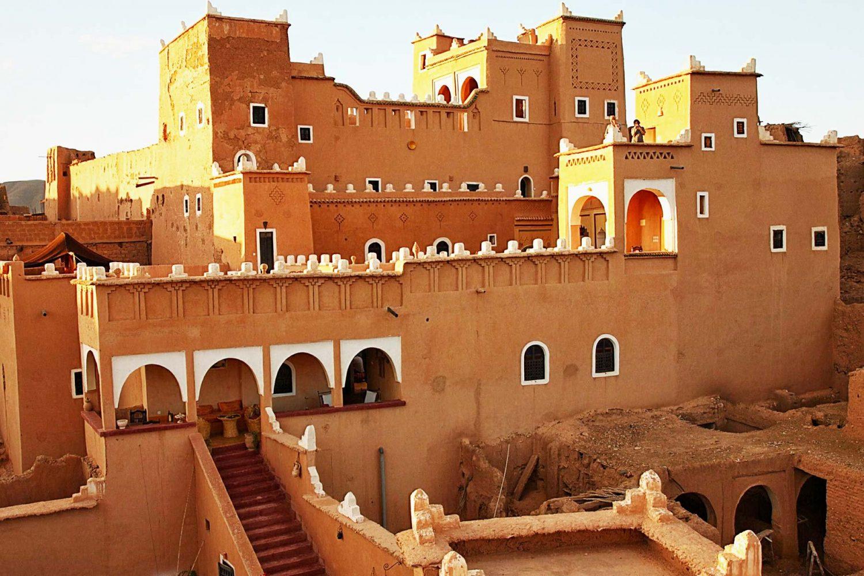 Morocco Souss Mass Draa_Region Ouarzazate_Province Skoura Kasbah