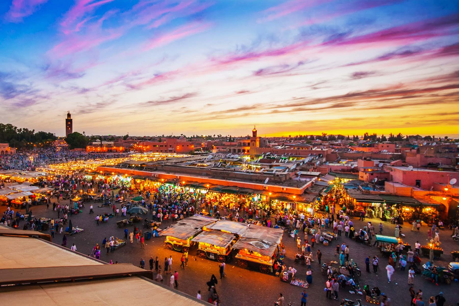 Maroc : Marrakech desert fes days nights morocco key travel